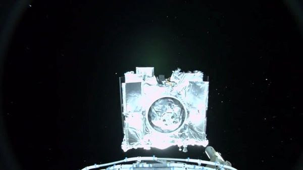 Rocketcam footage showing the OSIRIS-REx spacecraft separating from its Centaur second stage engine following a successful launch from Cape Canaveral Air Force Station in Florida...on September 8, 2016.