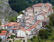 Il borgo di Opi, che si trova nel cuore del Parco nazionale d'Abruzzo