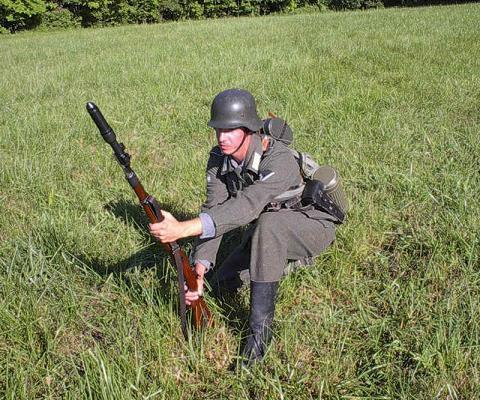 Equipamiento del soldado Alemán durante la Segunda Guerra M