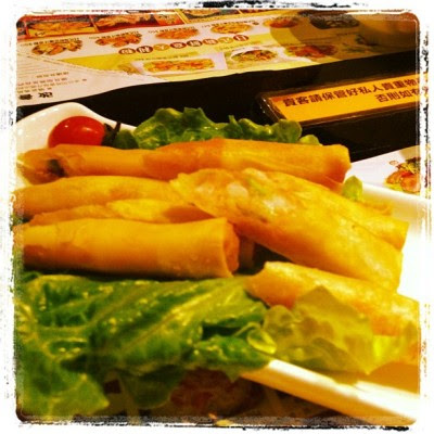 Deep fried prawn rolls #food  (Taken with instagram)