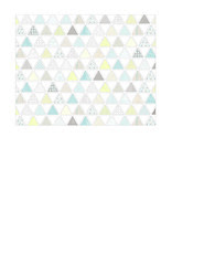 1b pattern-filled triangles SMALL SCALE - A2 card size LANDSCAPE or HORIZONTAL