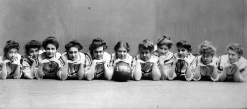 University of Michigan Women's basketball team (1908)