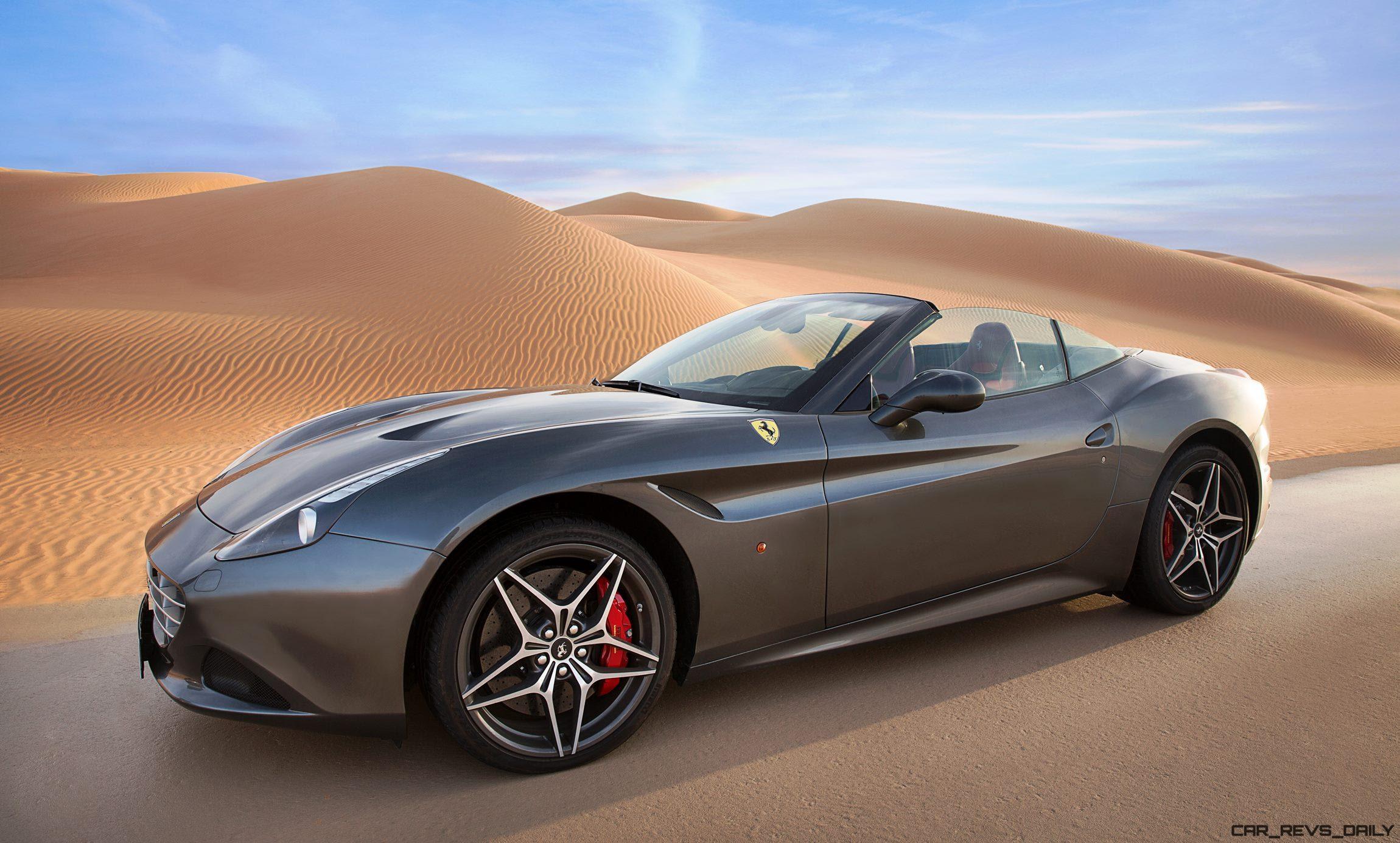 2016 Ferrari California T - Deserto Rosso