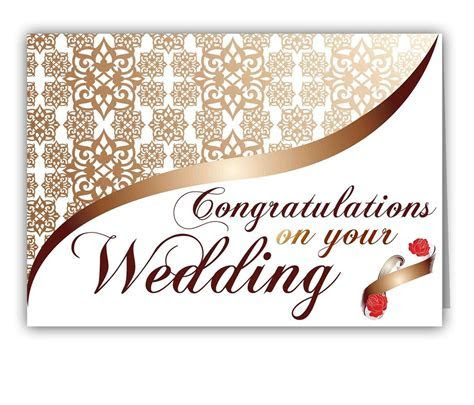 0005277 personalized greetings to congratulate on wedding