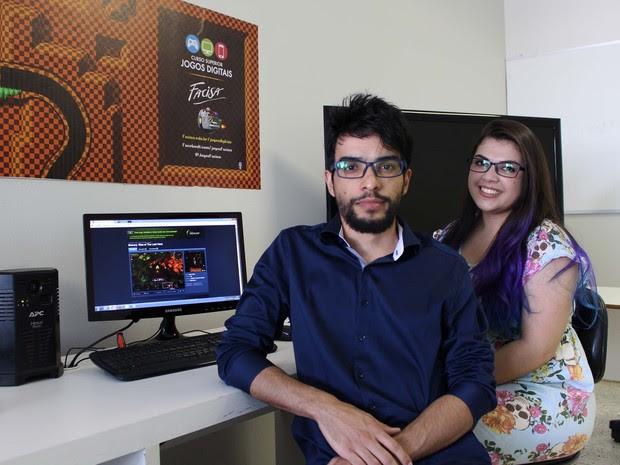 Jogo de casal paraibano foi aprovado na maior plataforma de games do mundo (Foto: Danielle Flôr/Ascom Facisa)