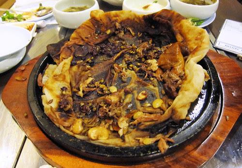 Korean Clay Roasted Duck at Dha Rae Oak