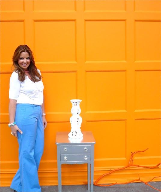 Courtney Cachet: Fabulous DIY: Spray Paint Your Furniture!