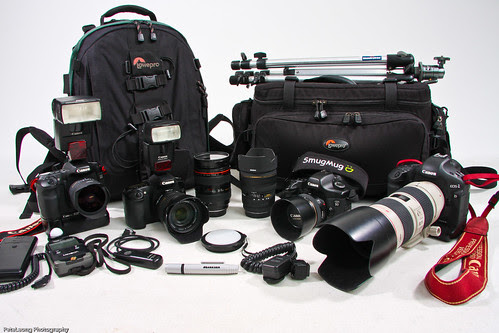 Inside my camera bags