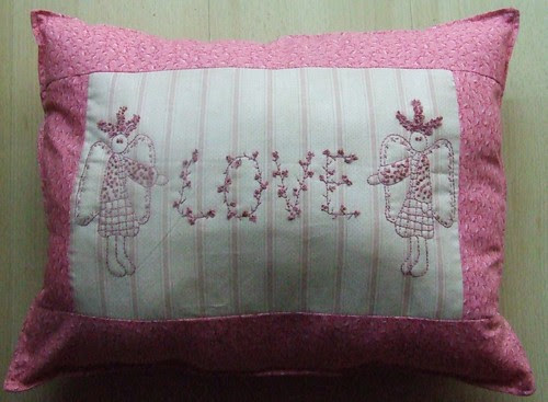Lynette Anderson Stitchery Pillow for Mom