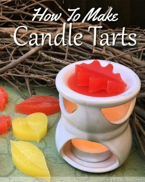 How to Make Leaf Candle Tarts - Running with Sisters