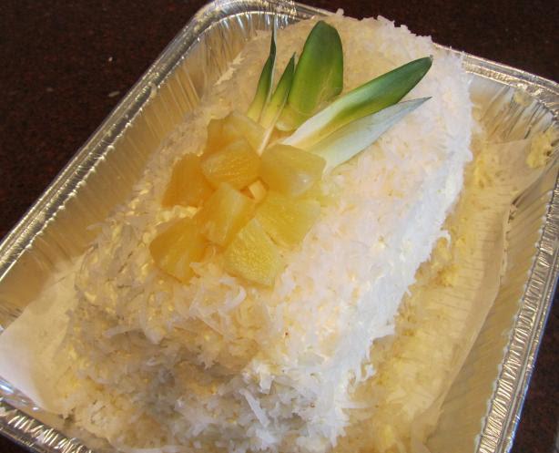 Coconut, Pineapple, Rum Cake. Photo by Rita~