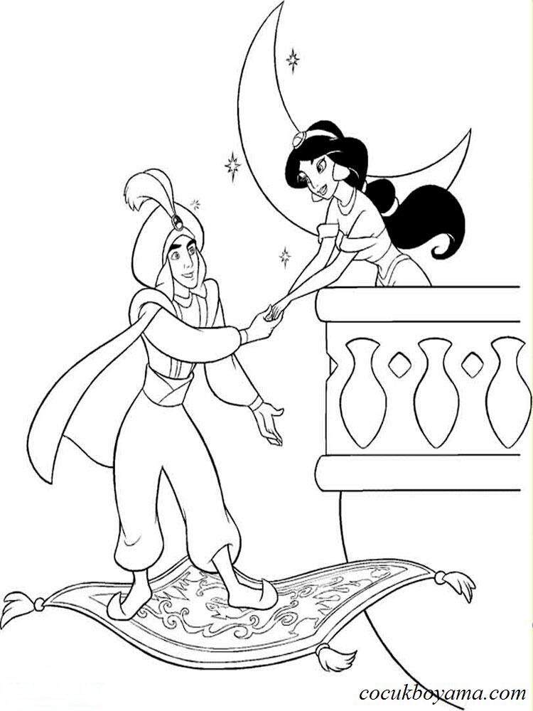Prenses Yasemin 6 ücretsiz Boyama Resimleri