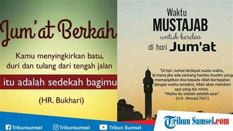 kumpulan kata kata bijak islami hari jumat  jumat