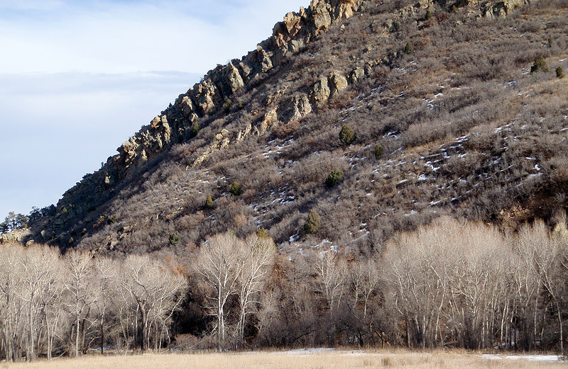 Heading east through the hogback portal onto the plains.