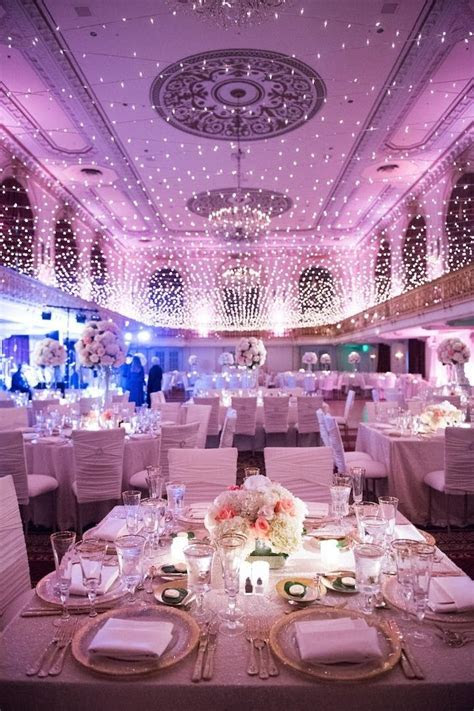 Pittsburgh Wedding Twinkles Under a Canopy of Lights