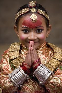 Little Girl from Nepal