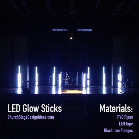 LED Glow Sticks   Church Stage Design   Church stage