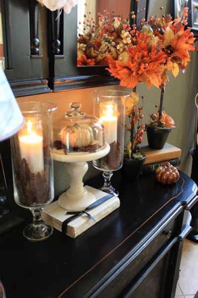 creative home decor ideas  fall leaves  dry