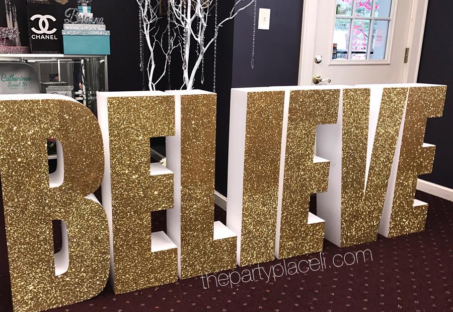 Large Prop Letters Designs The Party Place Li The Party