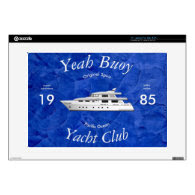 Yacht Club Yeah Buoy Skins For Laptops