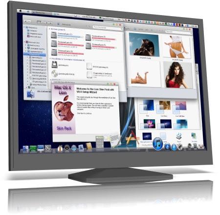AIO Skin Pack for Windows 7 x86/x64 [Mac Lion 8.0 | Windows 8 4.0 | Ubuntu 8.0]