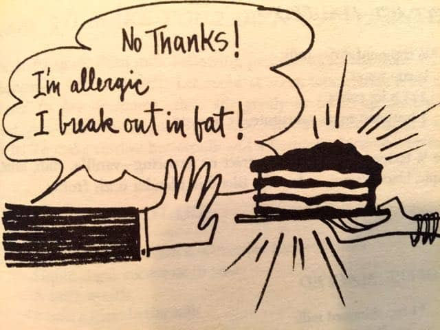 Weight Watchers 1960s program cookbook cartoon