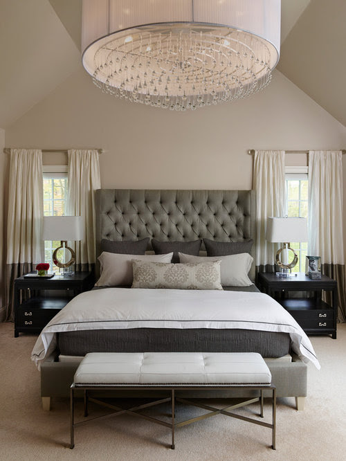 Transitional Bedroom Design Ideas, Remodels  Photos  Houzz