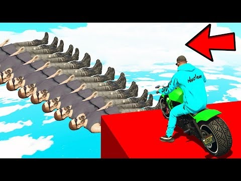 WILL I COMPLETE THIS 1000% IMPOSSIBLE GTA 5 PARKOUR CHALLENGE with CHOP & BOB