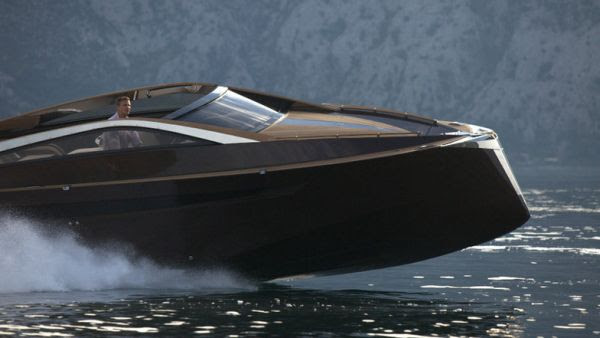Launches its Luxury Wooden Speed Boat Antagonist - Elite Choice