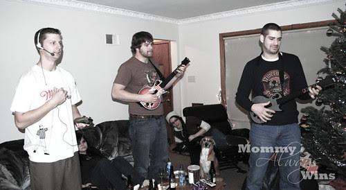 Playing Metallica Guitar Hero