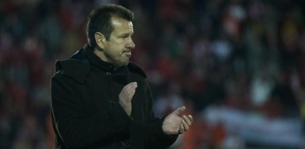 Após empate com o Botafogo, técnico Dunga teve apenas um treino leve com o elenco