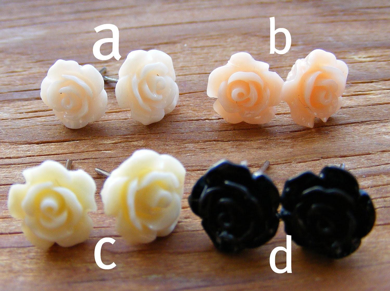 Earrings Petite Rose