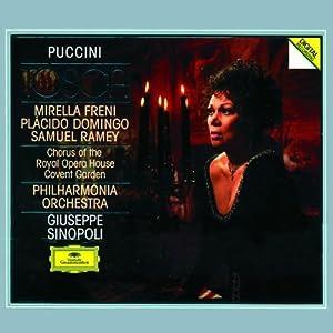 Giacomo Puccini: Tosca - Mirella Freni / Plácido Domingo / Samuel Ramey / Philharmonia Orchestra / Giuseppe Sinopoli