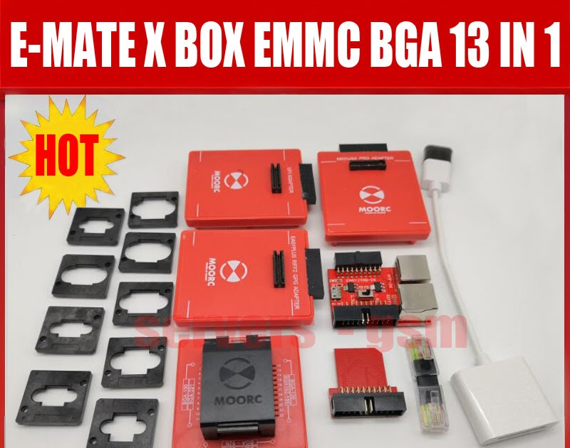 Back To Search Resultscellphones & Telecommunications +free Shipping Communication Equipments Hot Sale 2019 Original New Moorc E-mate X E Mate Pro Box Emmc Bga 13 In 1 Support 100 136 168 153 169 162 186 221 529 254