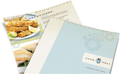 Make a Restaurant Menu Design: Easily Customize Templates