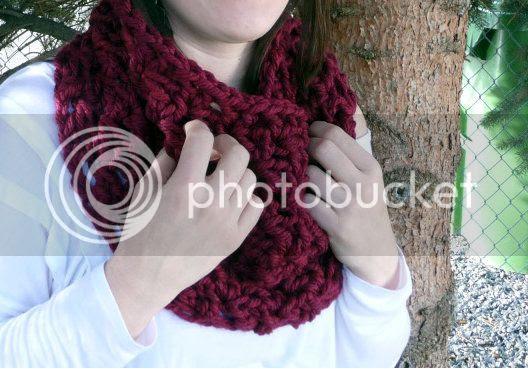 last minute cowl crochet pattern