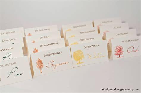 Escort Cards   Wedding Monograms by Bellus Designs