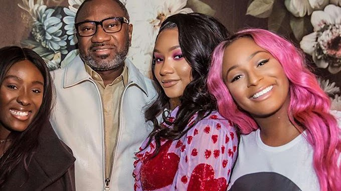[NEWS]Femi Otedola Gifts DJ Cuppy & Her Sisters Customized Ferrari Cars Worth 83 Million Naira Each