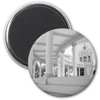 Vintage Curved Colonnade Magnets