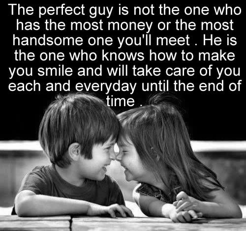 Love Quote The Perfect Guy Inspirational Quotes Pictures