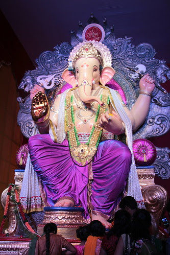 Ganesh Gully Mumbai Chya Raja Lalbagh 2012 by firoze shakir photographerno1