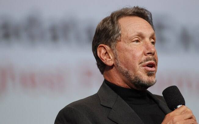 5. Larry Ellison,  co-fundador da Oracle, possui US$ 54,3 bilhões. Foto: Stephen Lam/Getty Images