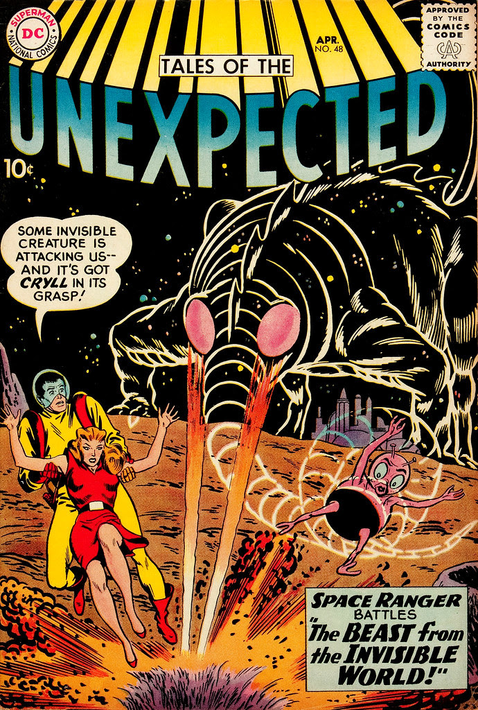 Tales of the Unexpected #48 (DC, 1960) Bob Brown cover