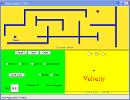 Screenshot of the simulation Maze Game