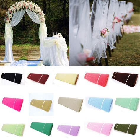 Bolt Tulle 54?x 40 Yards Tutu Fabric Nylon Pew Bow Party