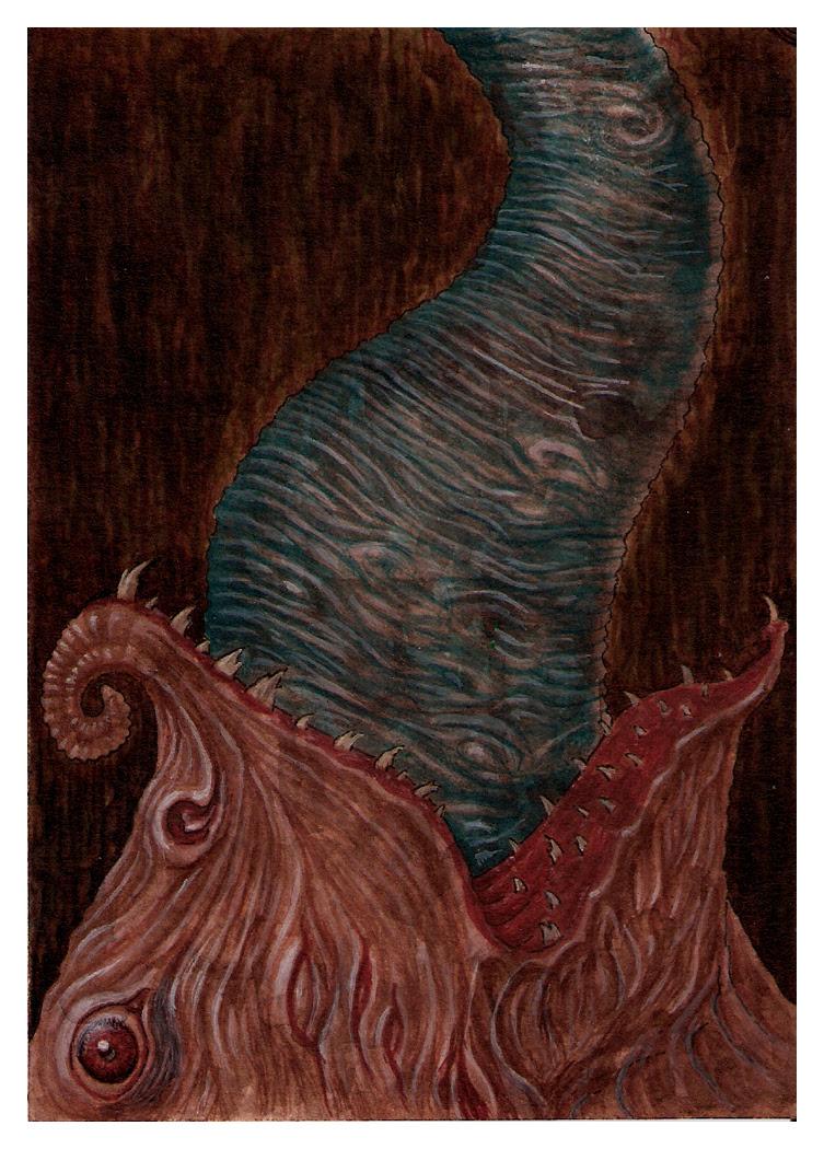 XXIII - Postcard III Leviathan by Fagertveit
