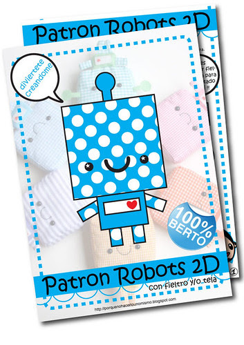 Patron Robos 2D!!! disponible