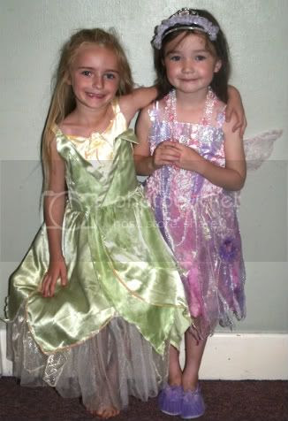 Bella & Caroline at her 5th Birthday party