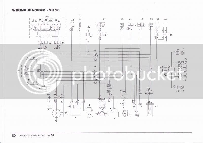 Aprilia Sr 50 R Wiring Diagram