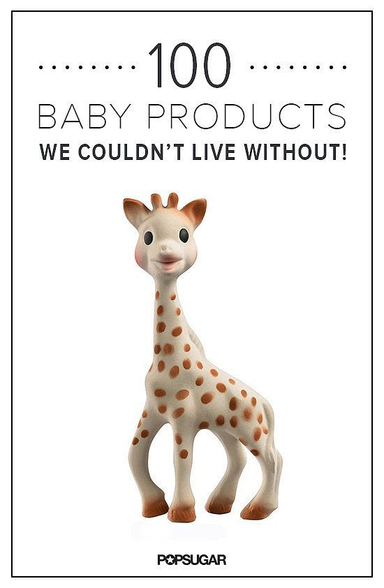 100 Baby Products you can't live without. some look like they would be a big help.